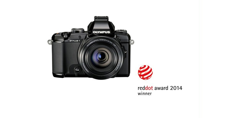 три награды red dot design awards для olympus