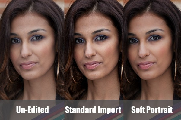 создаем в lightroom 4 пресет «soft portrait»