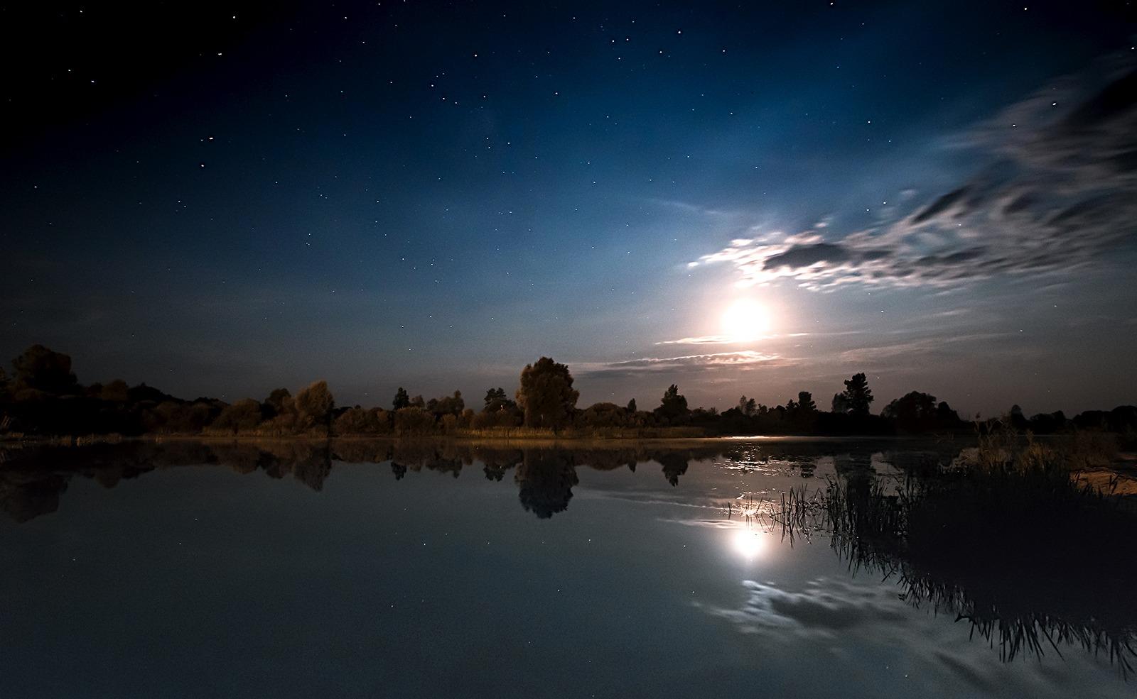 Лунная ночь фотографии после опубликованных