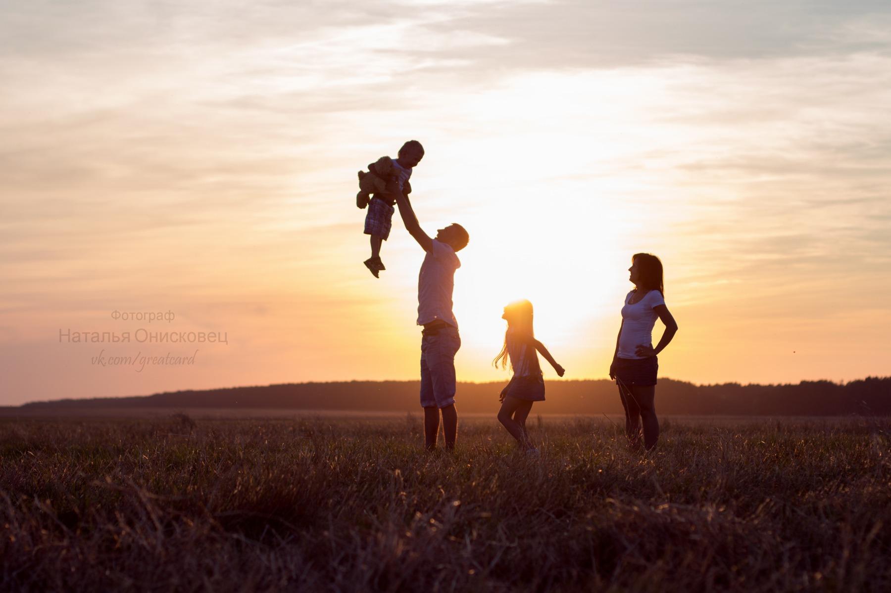 состоит красивые фото семьи с детьми со спины того чтобы