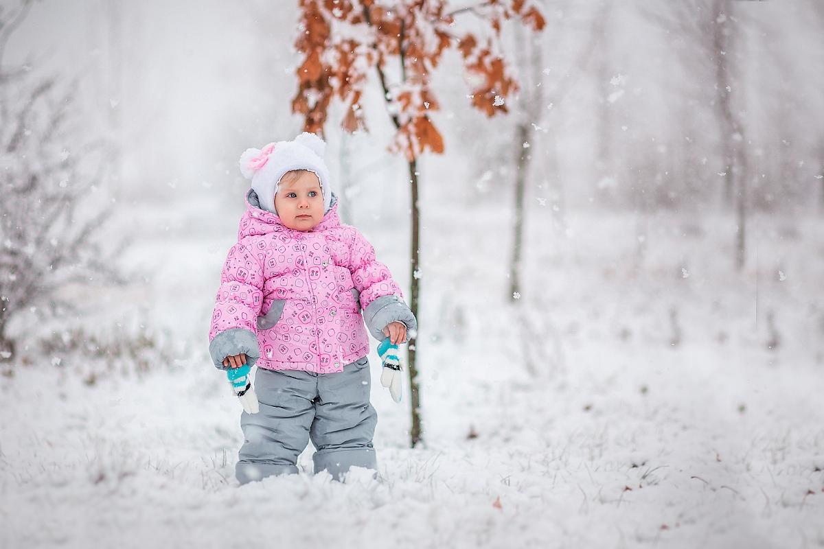 Первый снег и дети картинки для