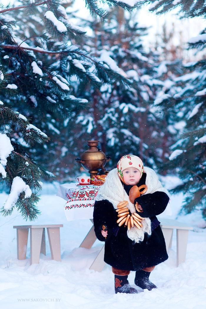 Фотосессия русская зима вариативность моделей социальной работы