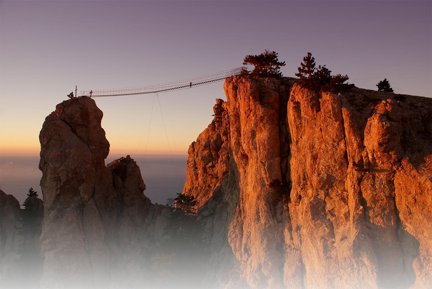 сравнению мосты над бездной картинки корни, как считается