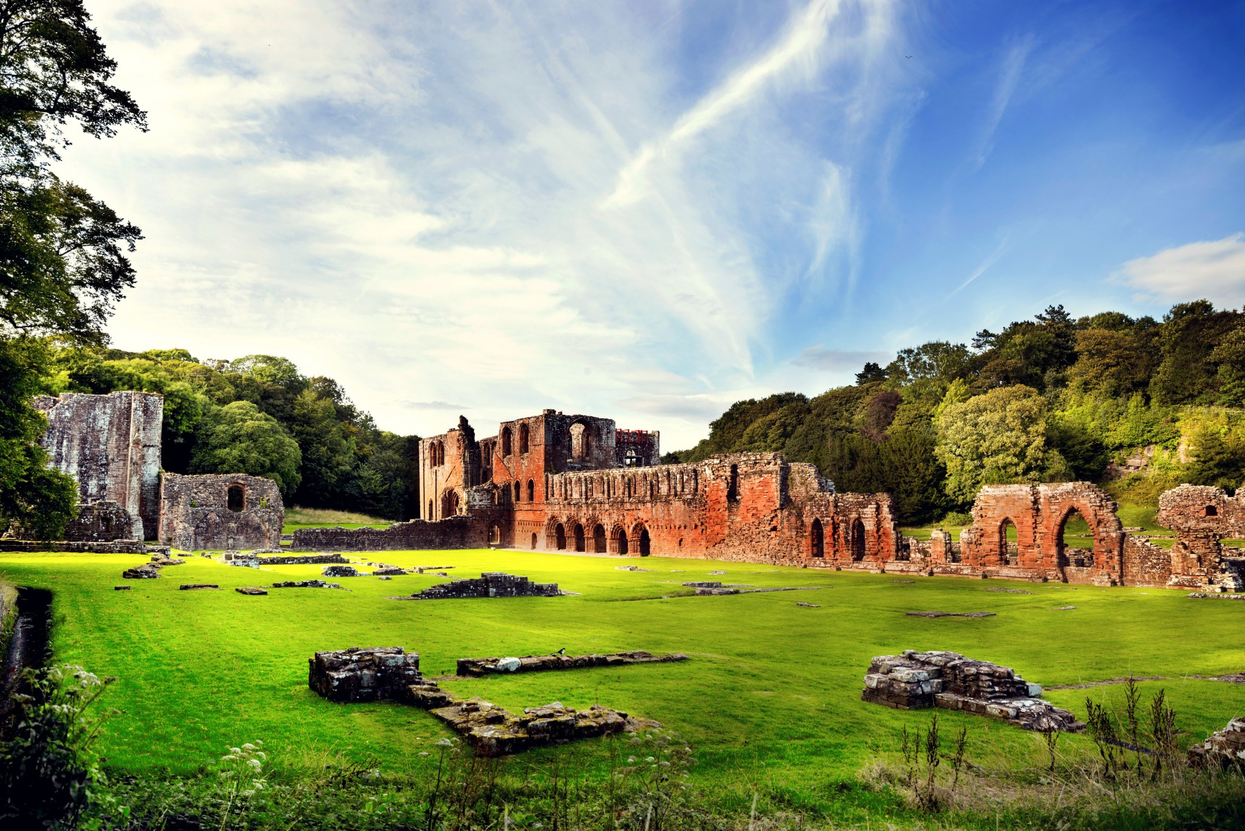 Furness Abbey | Фотограф Татьяна Малюта | foto.by фото.бай