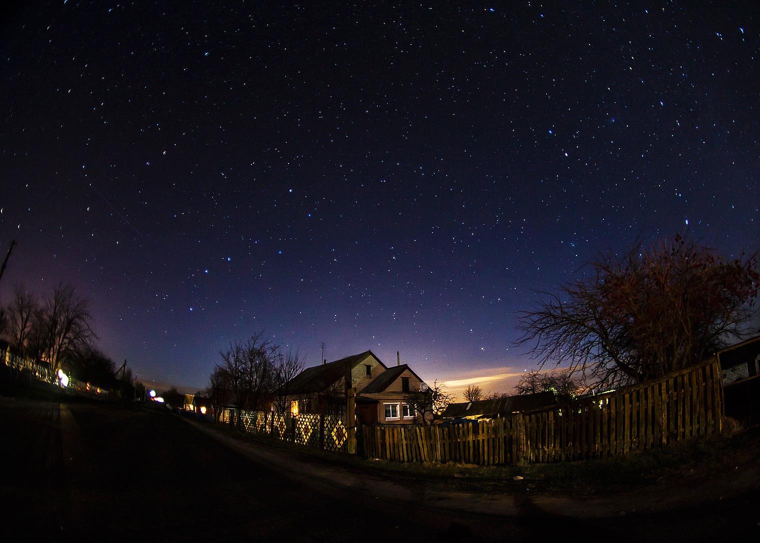 Картинки украинской ночи