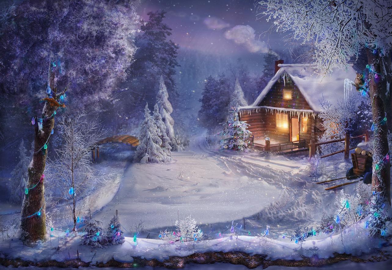 красивые открытки сказочная зима можете найти