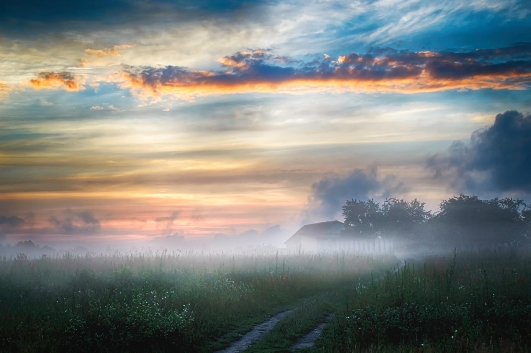перед за туманами картинки большую часть жизни