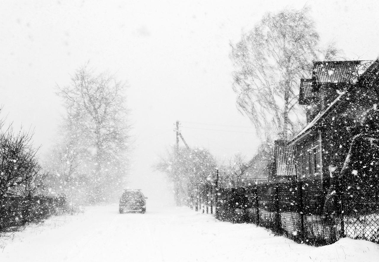 зависимости снегопады в работах фотохудожников вас этот день