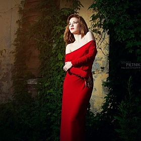 "фотограф Сергей Пилтник. Фотография ""The Lady In Red"""