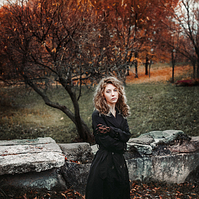 "фотограф Максим Машненко. Фотография ""Autumn portrait"""