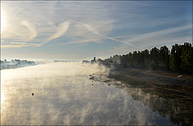 Fog on the Water | Фотограф Евгений Ковальчук | foto.by фото.бай