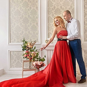 "фотограф Екатерина Умецкая. Фотография ""Love in red"""